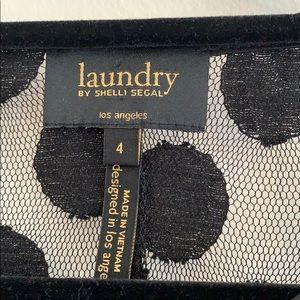 Laundry By Shelli Segal Dresses - Laundry by Shelli Segal Polka Dot Lace Shift Dress